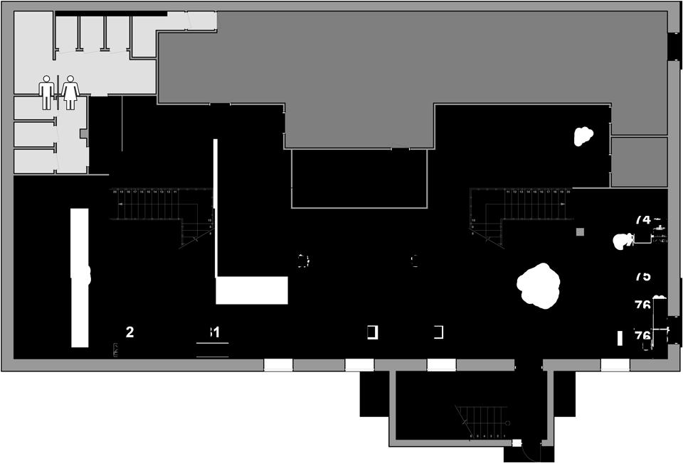 Показать план зала (Этаж 2)