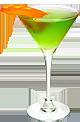 Мартини Экстра Драй, джин, ликер дынный, яблочный сок (100 мл)