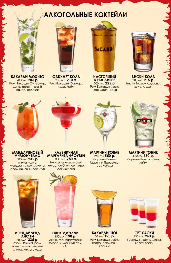 Вкусные алкогольные коктейли своими руками 20